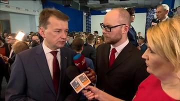 Mariusz Błaszczak (PiS): To potężny kredyt zaufania. Nie zawiedziemy