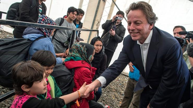 Holenderski minister apeluje: nie zamykajcie granic imigrantom