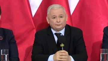 21-01-2017 19:13 Prezes PiS o protestach KOD: widać tam też twarze osób specjalnej troski
