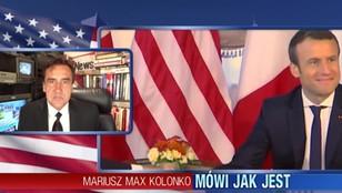 Mariusz Max Kolonko - Panie Macron, ściśnij Pan kalifat, a nie Trumpa!