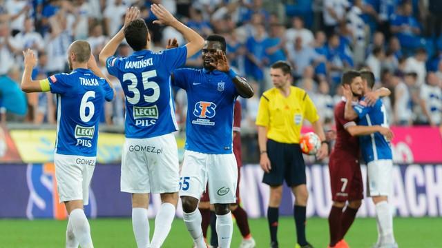 Piłkarze Lecha awansowali do kolejnej rundy LM