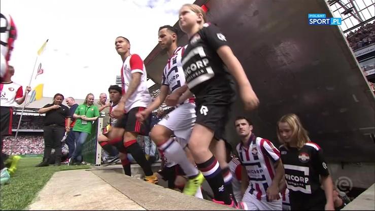 Feyenoord - Willem II 5:0. Skrót meczu