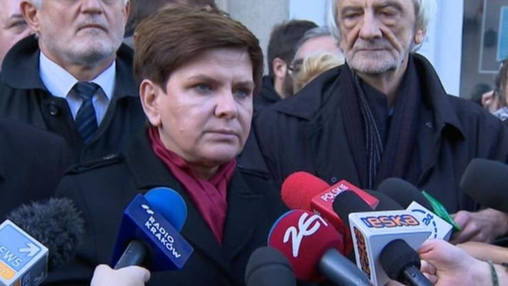 Szydło: jako premier polskiego rządu zrobię wszystko, żeby Polacy byli bezpieczni