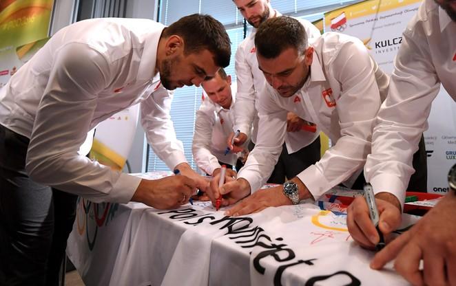 Ślubowanie polskich olimpijczyków przed igrzyskami w Rio