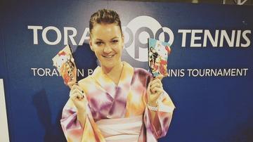 2016-12-20 Radwańska szósty raz z rzędu ulubioną tenisistką kibiców