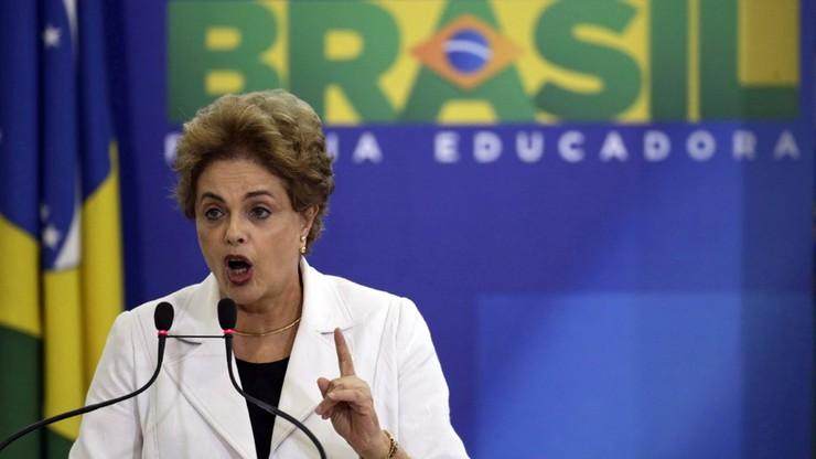 Koalicyjny partner D. Rousseff chce jej odsunięcia od władzy
