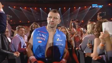 2017-06-25 Polsat Boxing Night: Efektowne wyjście Adamka (WIDEO)