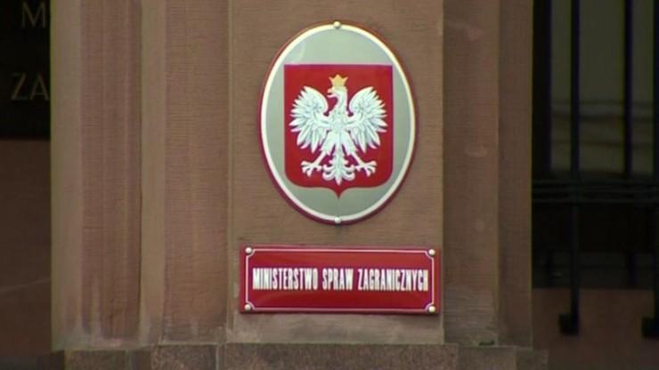 MSZ: wiceminister Stępkowski odwołany z funkcji