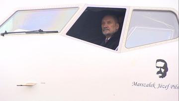 Pierwszy Boeing 737 dla VIP-ów już w Warszawie. Będzie nosił imię marszałka Piłsudskiego