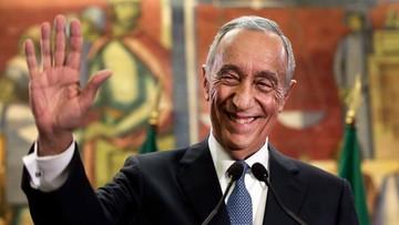 25-01-2016 05:17 Marcelo Rebelo de Sousa nowym prezydentem Portugalii