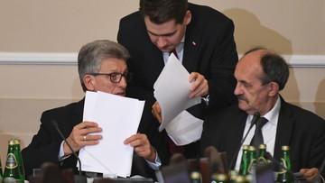 30-11-2017 21:53 Sejmowa komisja sprawiedliwości za uchwaleniem projektu prezydenta o SN wraz z przyjętymi poprawkami PiS