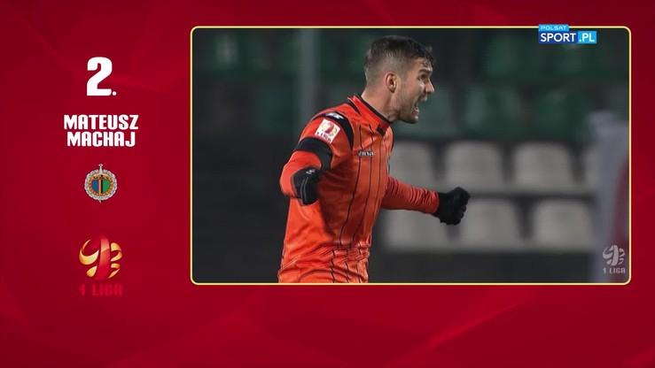 Kto strzelił najpiękniejszego gola w listopadzie w 1 lidze?