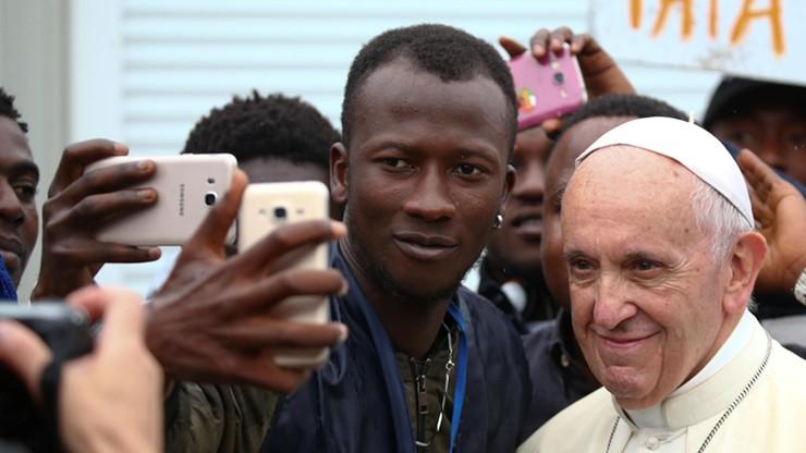 Papież odwiedził centrum dla migrantów w Bolonii. Apelował o otwarcie korytarzy humanitarnych