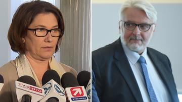 Mazurek: nie podzielam słów ministra Waszczykowskiego ws. protestu kobiet
