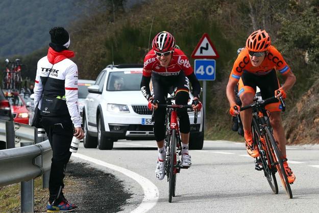 Dookoła Katalonii: Paterski trzeci na etapie, Porte wciąż liderem