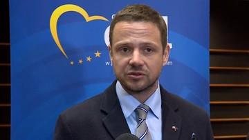 05-04-2016 11:48 Trzaskowski: w przyszłym tygodniu Parlament Europejski może przyjąć rezolucję o Polsce