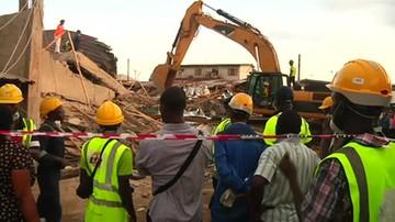 Zawalił się wielopiętrowy dom w Nigerii. Są ranni