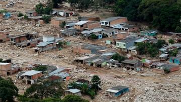 Już 290 ofiar śmiertelnych lawiny błotnej w Kolumbii
