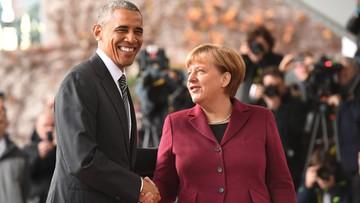 18-11-2016 13:22 Obama spotkał się z Merkel i przywódcami czterech innych krajów UE