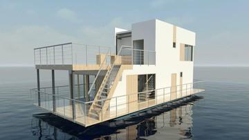 05-05-2016 10:45 Pływające domy. Polacy chcą takie budować