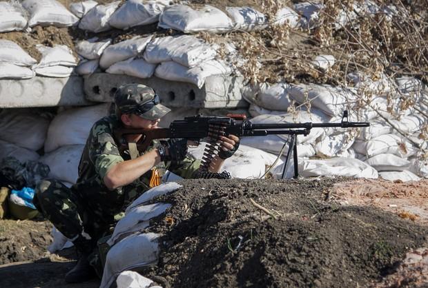 Separatyści w natarciu. Ukraińscy żołnierze okrążeni