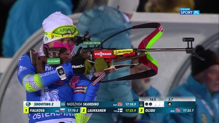 Sensacyjna wygrana Białorusinki! Skrót biegu indywidualnego na 15 km