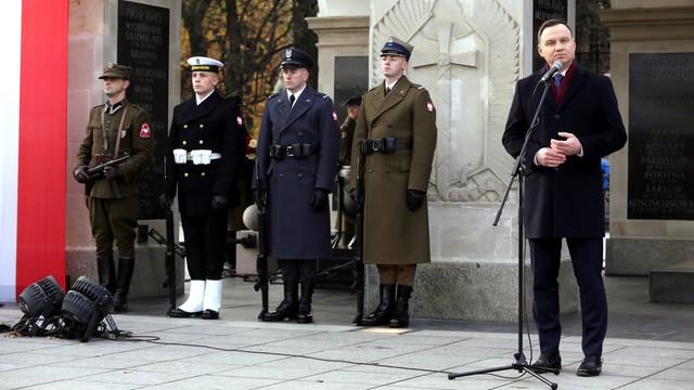 Prezydent: nie byłoby niepodległości, gdyby nie Żołnierze Niezłomni
