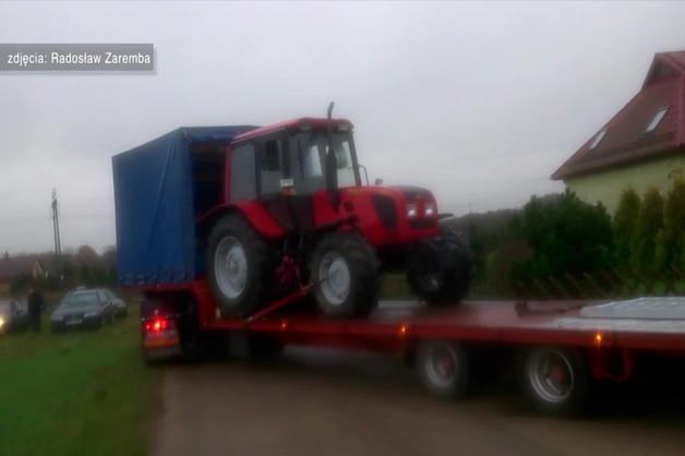 Komornik odkupił traktor