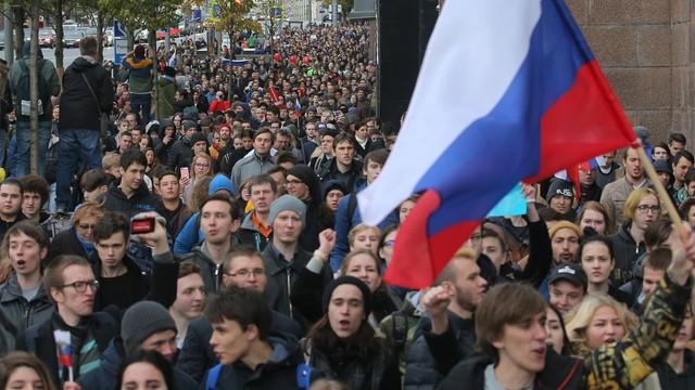 Kolejne zatrzymania zwolenników Nawalnego w Moskwie