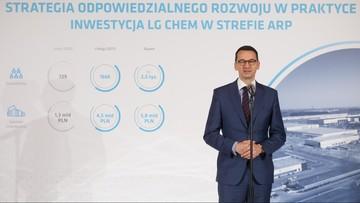 12-10-2017 11:52 Morawiecki: zakaz handlu w niedziele to bardziej zmiana społeczna niż gospodarcza