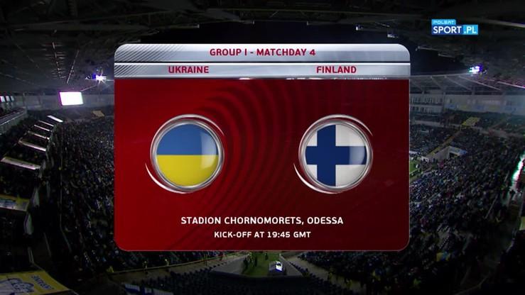 2016-11-12 Ukraina - Finlandia 1:0. Skrót meczu