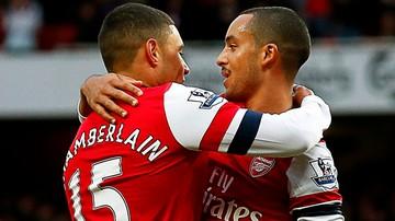 2015-10-29 Arsenal trzy tygodnie bez Walcotta i Oxlade-Chamberlaina