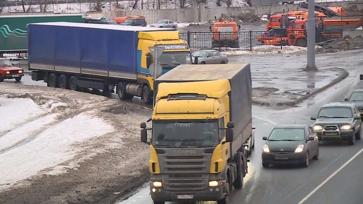 Odwet Rosji: blokada dla ukraińskich ciężarówek