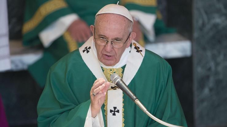 """Papież: mówienie """"zapłacisz mi za to"""" jest niechrześcijańskie"""