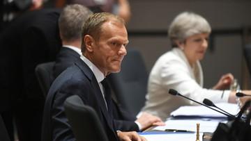 23-06-2017 15:11 Tusk: oferta Wielkiej Brytanii może pogorszyć sytuację obywateli UE