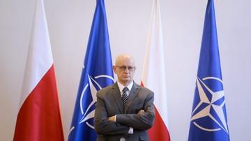 18-05-2017 14:24 Szczerski: w poniedziałek misję rozpocznie ambasador przy NATO Marek Ziółkowski