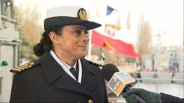 30-11-2016 20:55 Pierwsza kobieta dowódcą okrętu polskiej marynarki