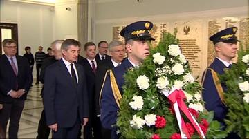 W Sejmie uczczono pamięć ofiar katastrofy smoleńskiej