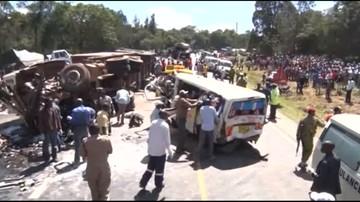 12-12-2017 19:00 Karambol w Kenii. Ponad 30 ofiar śmiertelnych
