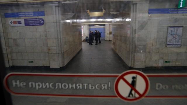 Rosyjskie media: zatrzymano wspólników zamachowca z metra