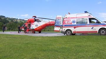 01-09-2017 17:06 Tragiczny koniec wakacji w Tatrach. Turysta nie przeżył upadku z wysokości