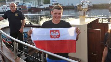 2017-08-30 Sebastian Karaś: Przepłynięcie Bałtyku to było 28 godzin i 30 minut walki