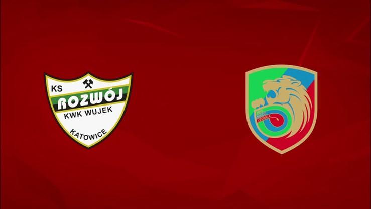 2015-11-02 Rozwój Katowice - Miedź Legnica 2:1. Skrót meczu