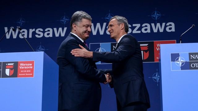 NATO potwierdza wsparcie dla Ukrainy i potępia Rosję za podsycanie konfliktu