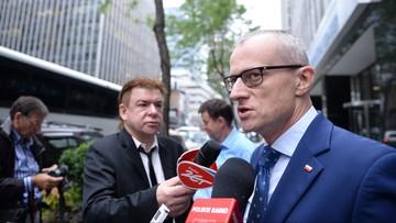 18-09-2016 16:49 Magierowski o wybuchu: prezydent Duda był bezpieczny