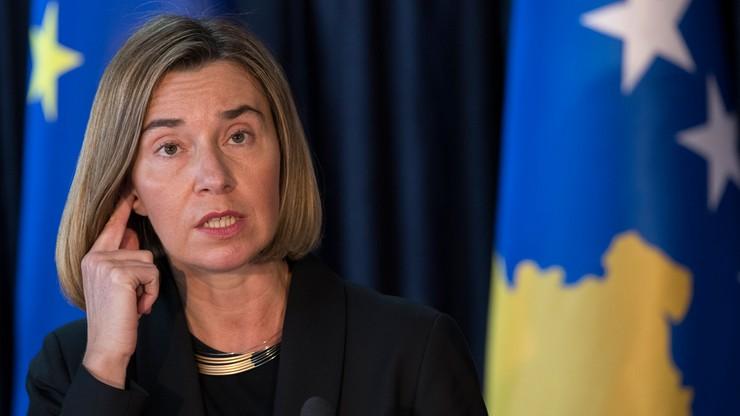 Szefowa dyplomacji UE ponagla opozycję w Kosowie ws. umowy