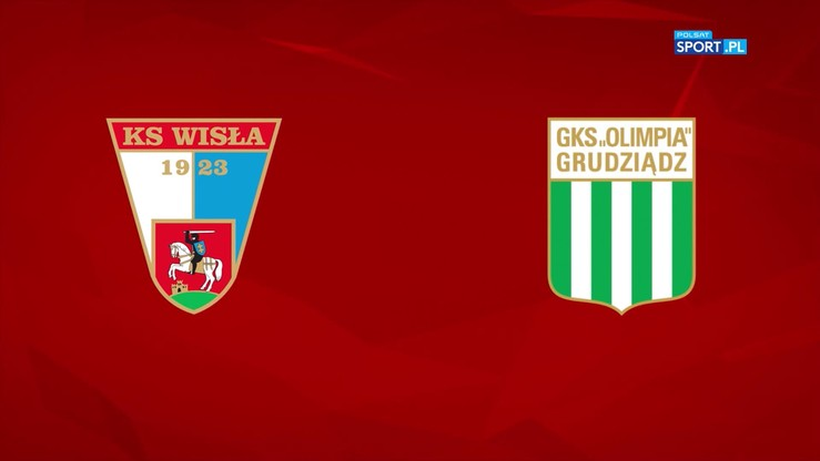 Wisła Puławy - Olimpia Grudziądz 0:1. Skrót meczu