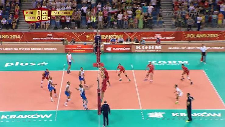 Iran - Portoryko 3:0. Skrót meczu