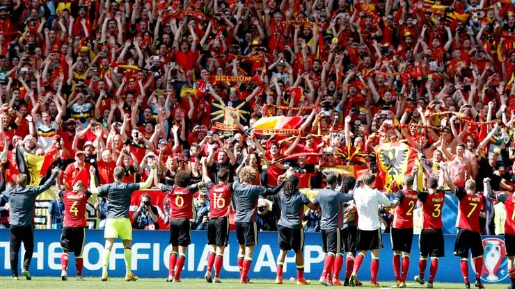 Euro 2016: Król Belgii w szatni piłkarzy