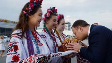 23-08-2016 21:16 Prezydenci Polski i Ukrainy na prywatnej kolacji